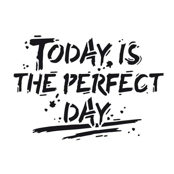 Viva Decor Universal-Schablone A4 Today is the Perfect Day