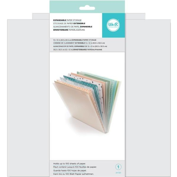 WeR Memory Keepers Expandable Paper Storage