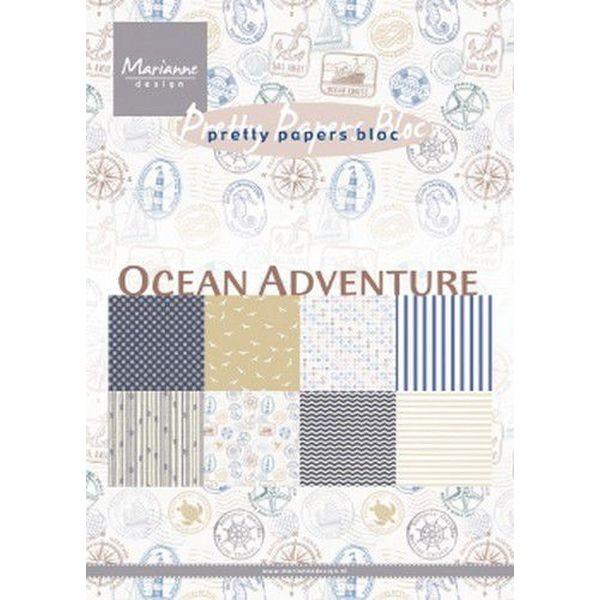 Marianne D Pretty Papers Bloc Ocean Adventure