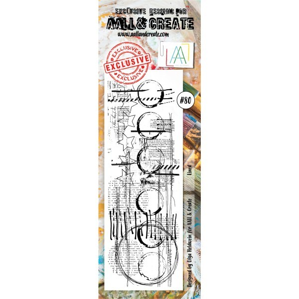 AALL & Create Border Clearstamps No. 80
