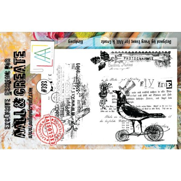 AALL & Create Clearstamps A5 No. 393 Birdsong
