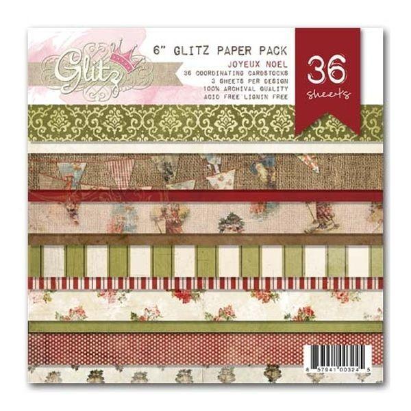 Glitz Design Joyeux Noel Paperpack