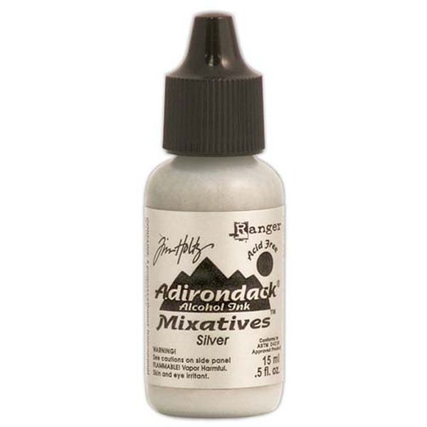 Tim Holtz Alcohol Ink Mixative Silver