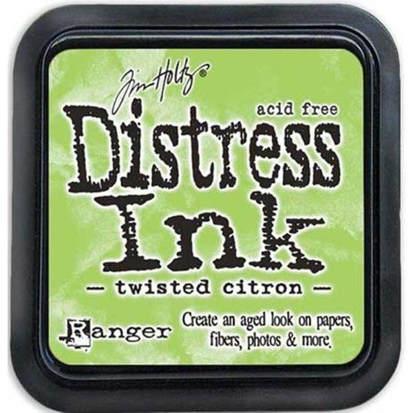 Distress Ink Mini Pad Twisted Citron