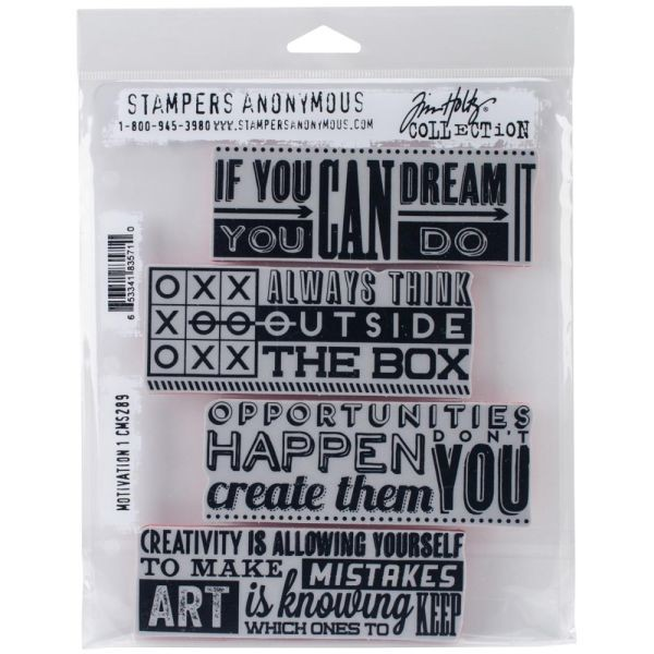 Tim Holtz Motivation No. 1