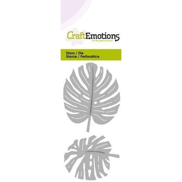 Craft Emotions Dies Monstera Leaves