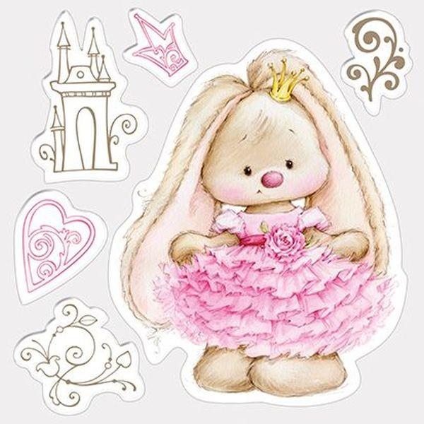 ScrapBerry´s Clearstamps Summer Joy Bunny Princess