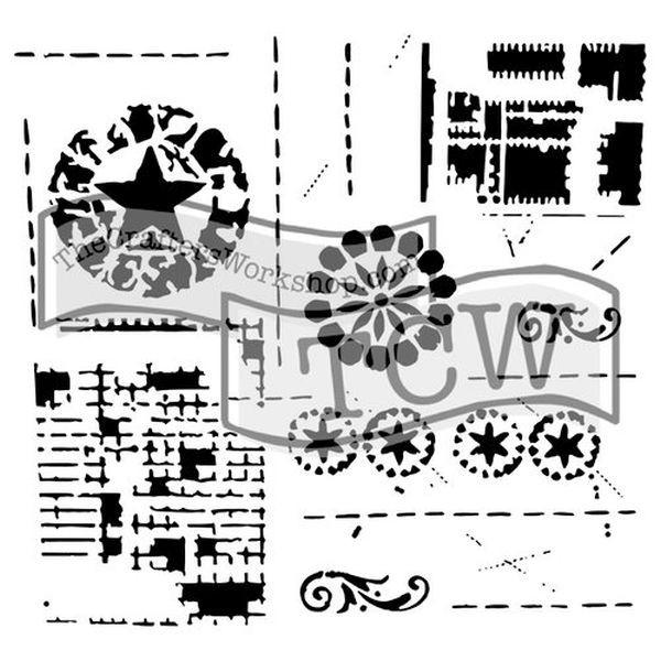 TCW Template 6x6 by Rebekah Meier Brazen Star