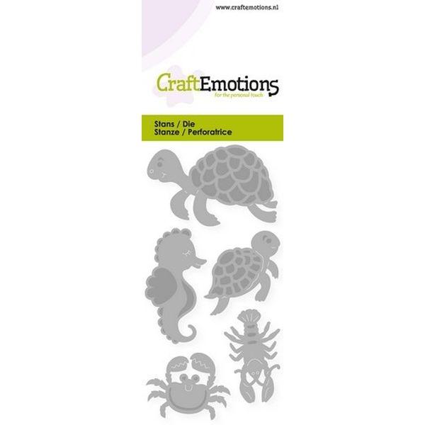 Craft Emotions Dies Turtle & Seahorse
