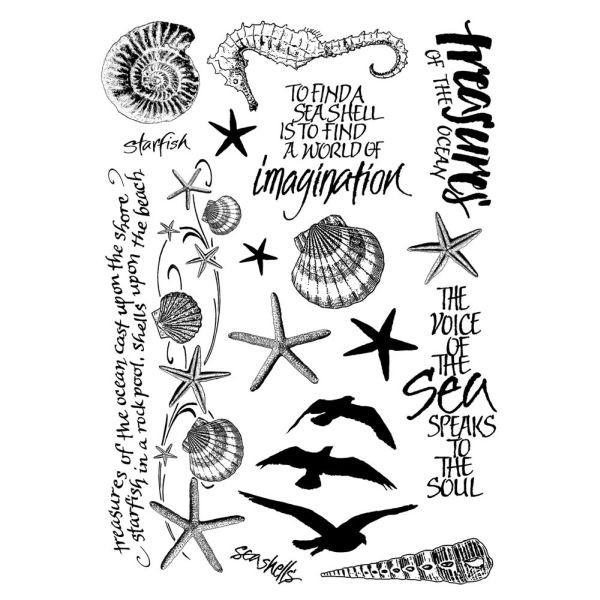 Crafty Individuals Seaside Treasures - Multi Elements