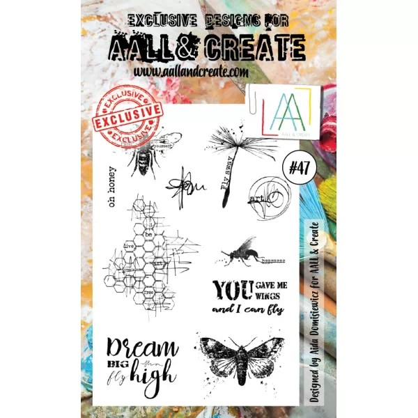 AALL & Create Clearstamps A6 No. 47