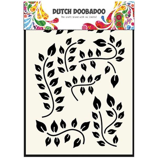 Dutch Doobadoo Mask Stencil A5 Leaf Branch