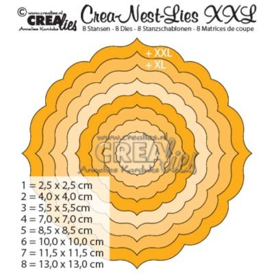 CreaLies Crea-Nest-Lies XXL No. 04 Ornament Circle