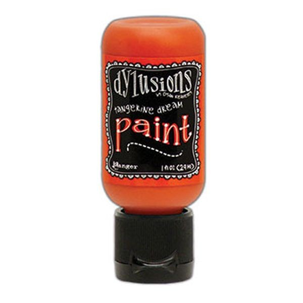 Dylusions Flip Cap Paint Tangerine Dream