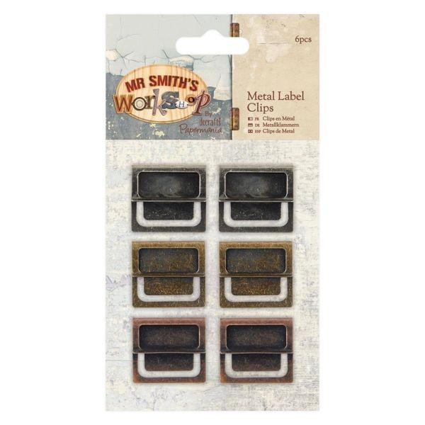 Mr. Smith´s Workshop Metal Label Clips