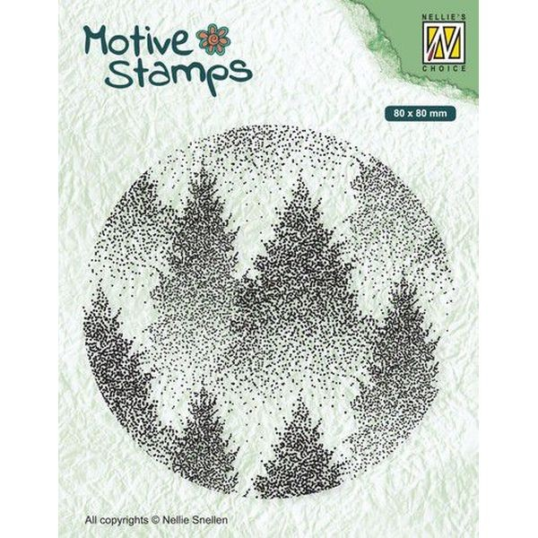 Nellie´s Choice Clearstamp Misty Forest
