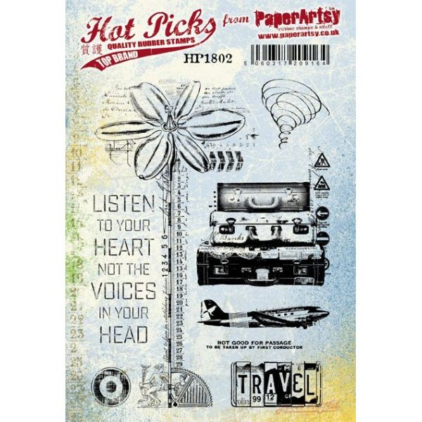 Paper Artsy Hot Pick 1802