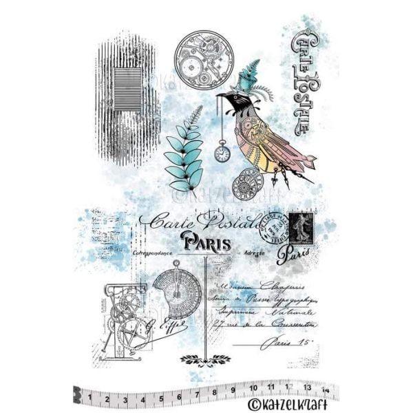 Katzelkraft Tampon A5 Carte Postale
