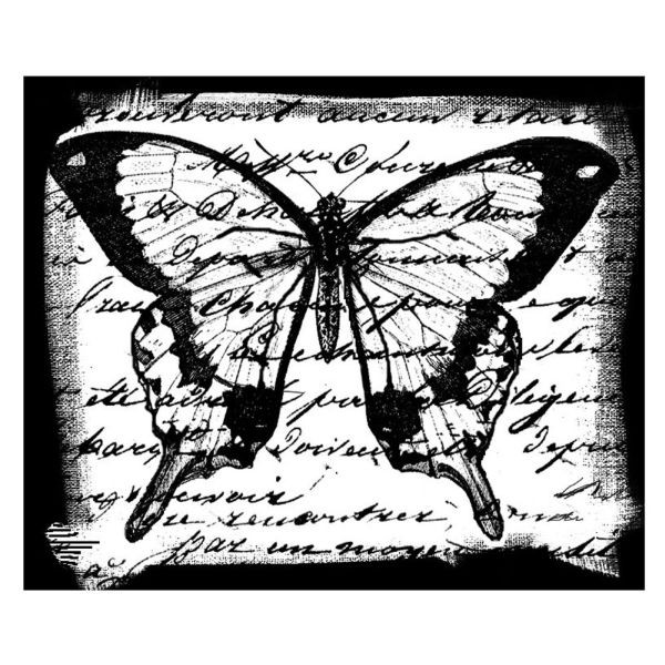 Crafty Individuals 061 Butterfly Script