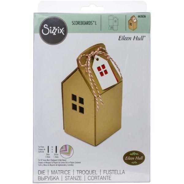 Sizzix ScoreBoards L House Ornament