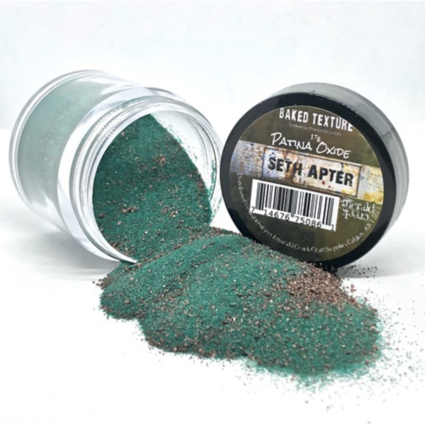 Seth Apter Baked Texture Embossing Powder Patina Oxide