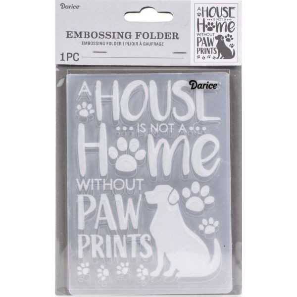 Darice Embossingfolder Dog House Home