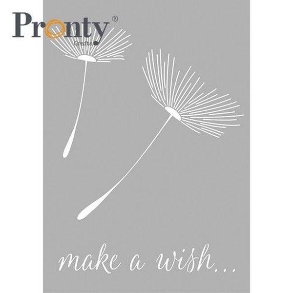 Pronty Mask Stencil A4 Dandelion