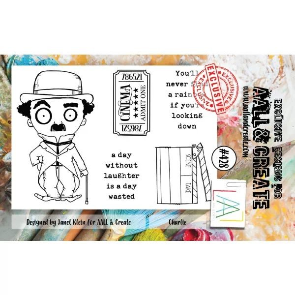 AALL & Create Clearstamps A7 No. 428 Charlie