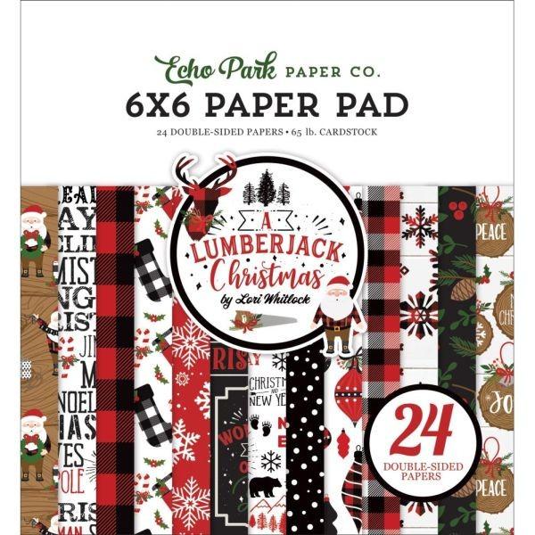 Echo Park A Lumberjack Christmas Paper Pad