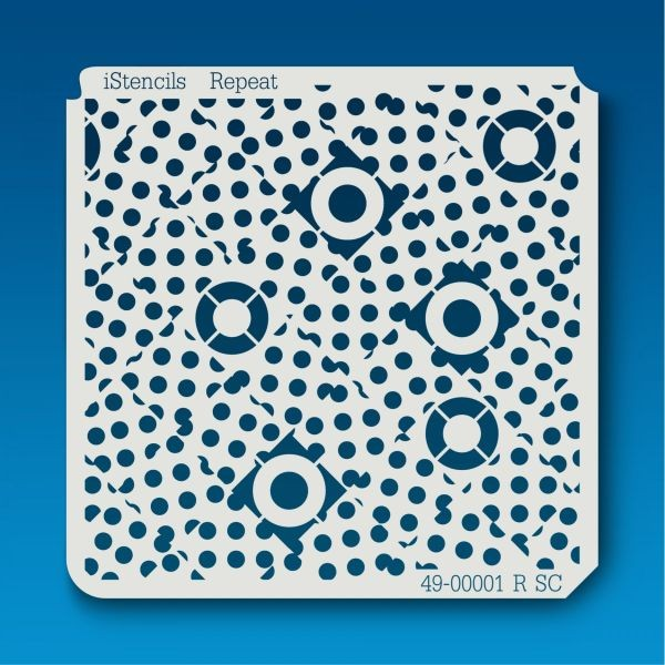 Istencils 5x5 Circles