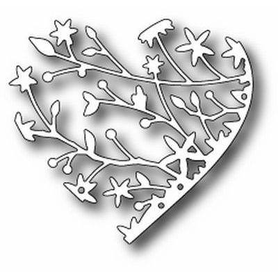 Memory Box Die Serafina Heart