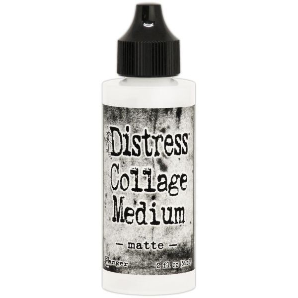 Tim Holtz Distress Collage Medium Matte 2oz