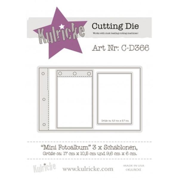 Kulricke Dies Mini Fotoalbum Set
