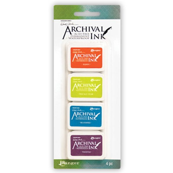 Ranger Archival Mini Ink Pad Set by Wendy Vecchi No. 6