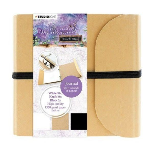 Studio Light Jenine´s Mindful Art Journal 21x19