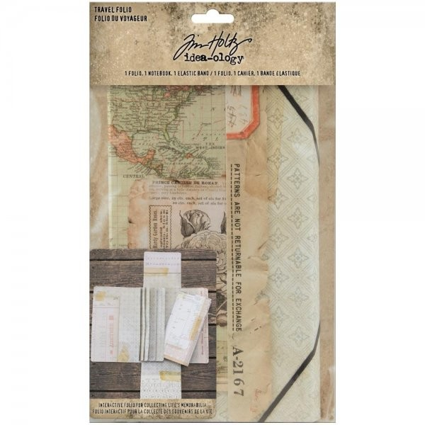 Tim Holtz Idea_Ology Travel Journal