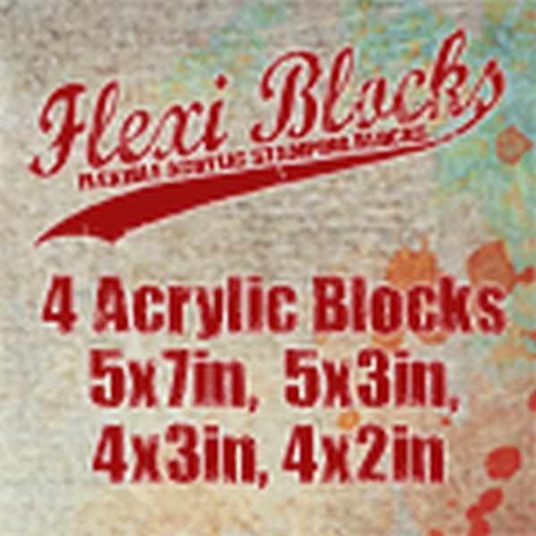 Paper Artsy Flexi Acrylic Blocks