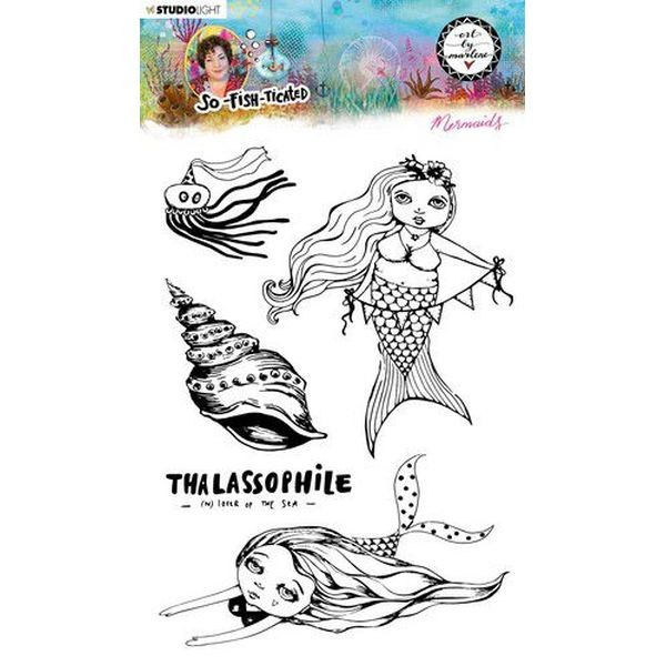Studio Light by Marlene So-Fish-Ticated Clearstamps A5 No. 14