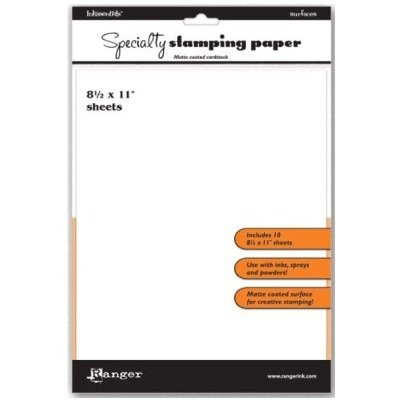Inkssentials Specialty Stamping Paper 8.5 x 11