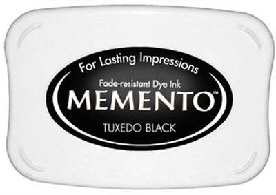 Memento Dye Ink Pad Tuxedo Black