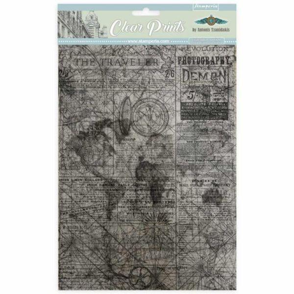 Stamperia Clear Prints A4 SBA408