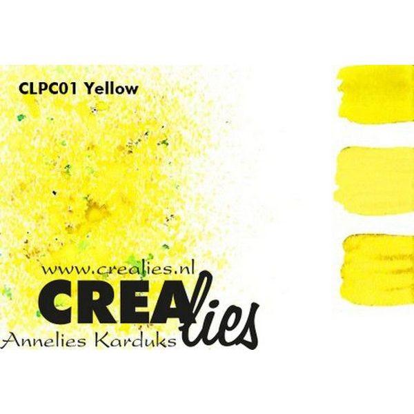 Crealies Pigment Colorzz Yellow