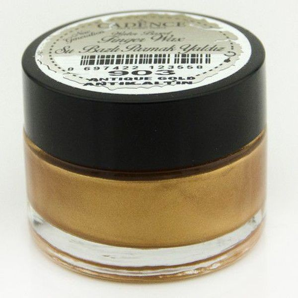 Cadence Art & Hobby Paints Finger Wax Antique Gold
