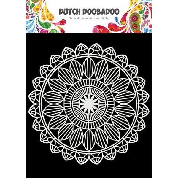 Dutch Doobadoo Mask Stencil 6x6 Mandala