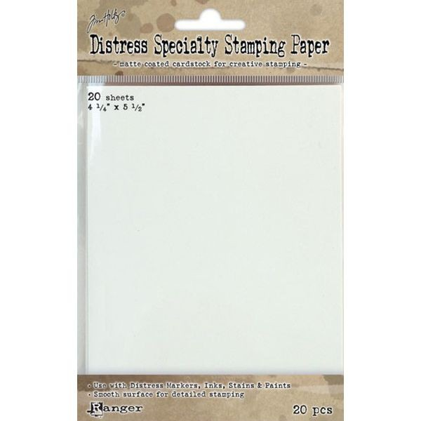 Tim Holtz Distress Specialty Stamping Paper 4.25x5.5