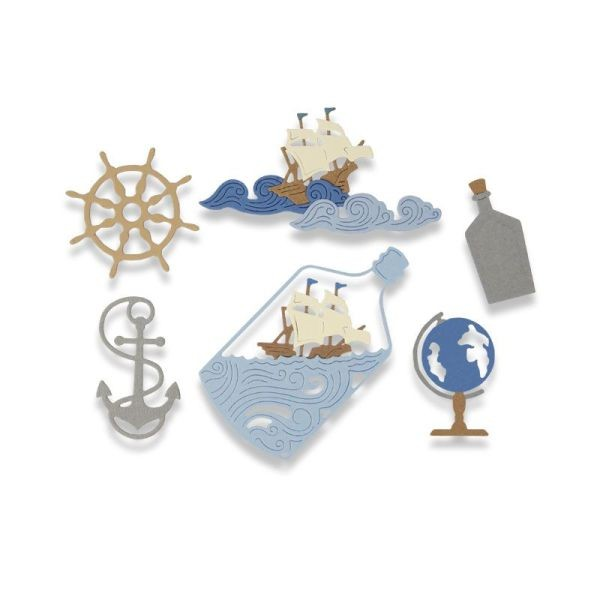 Sizzix Thinlits Die Ship in a Bottle