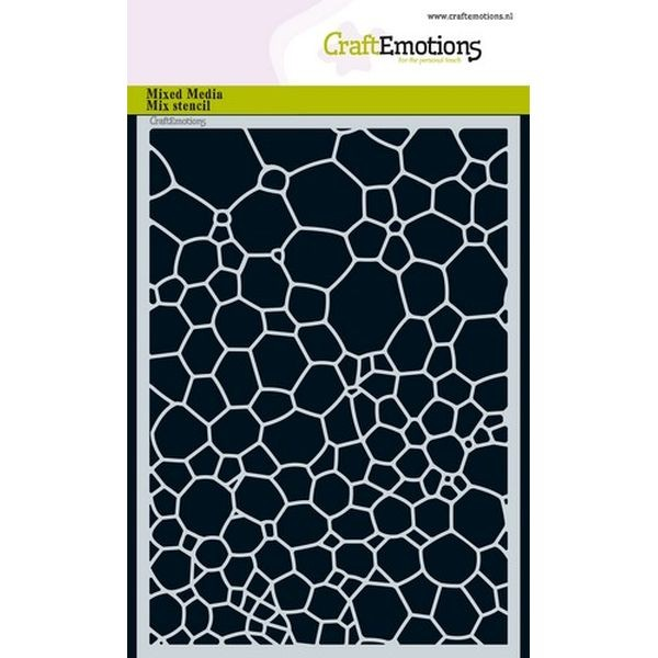 Craft Emotions Mask Stencil Water Bubbles II