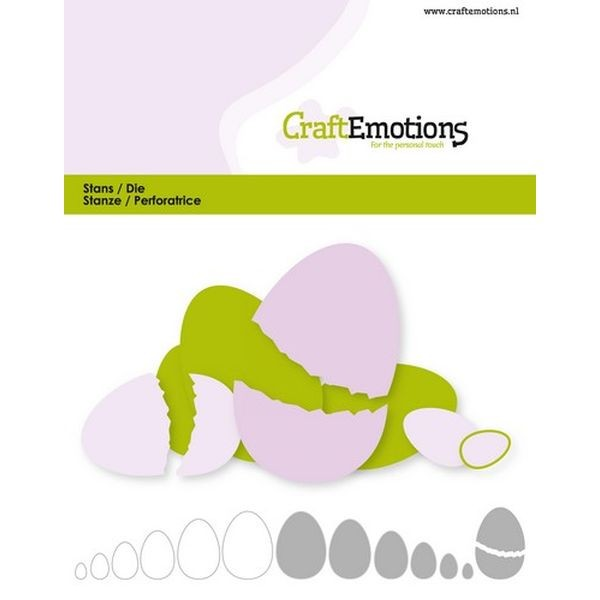 Craft Emotions Dies Nesting Eggs
