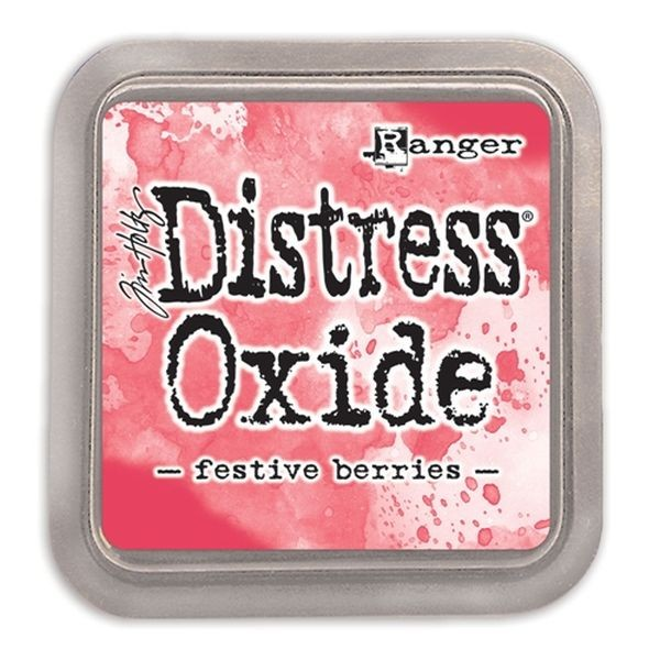 Tim Holtz Distress Oxide Pad Festive Berries