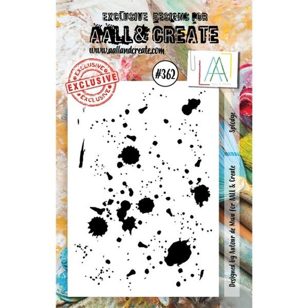 AALL & Create Clearstamps A7 No. 362 Splodge